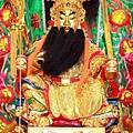 汐止五谷金聖殿金面關聖帝君聖像