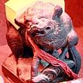 淡水忠義宮獅爺將軍聖像