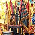 淡水忠義宮五營元帥聖像