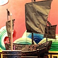 淡水忠義宮蘇府王船聖像