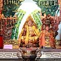 瑞芳忠仁廟龍邊神龕列位尊神聖像
