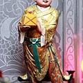 瑞芳瑞義社武英殿捧印童子聖像