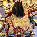 三芝玉仙宮鎮殿張府元帥聖像