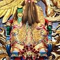 三芝玉仙宮鎮殿福德正神聖像