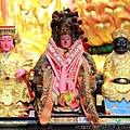 三芝玉仙宮天上聖母、林府千歲、清水祖師聖像