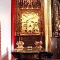 玉仙宮後殿虎邊神龕,奉祀:天上聖母