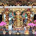 台東龍鳳佛堂一樓正殿列位尊神聖像
