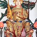 台東龍鳳佛堂鎮殿中壇元帥聖像