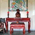 鳳凰宮二樓正殿虎邊神龕,奉祀:文昌帝君