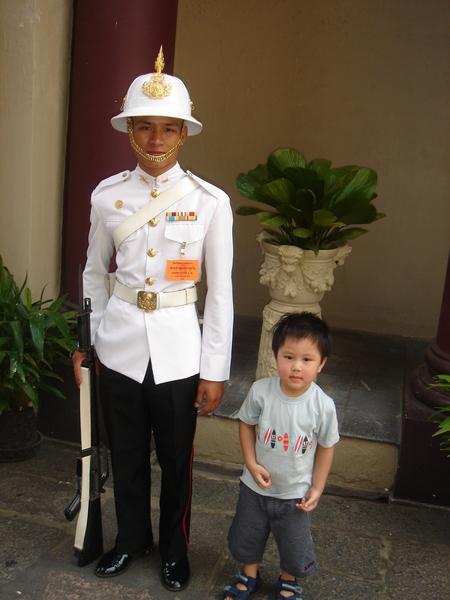 泰國大皇宮-和偶像拍照Apr,07