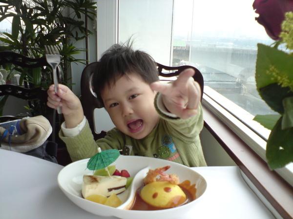 好精緻的兒童餐