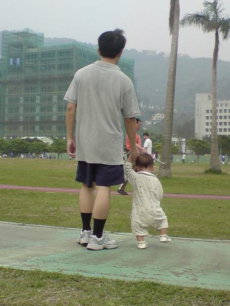 天母運動公園散步