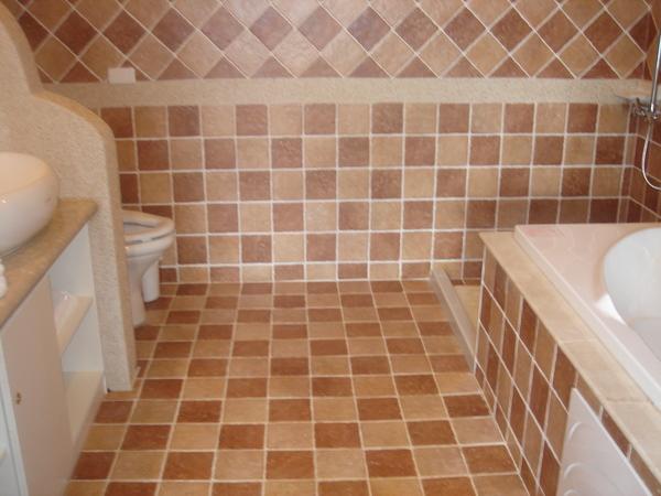 有暖機房設備的浴室
