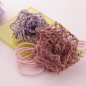 【18005】バラ(紫ピンク):モチーフで楽しむ
