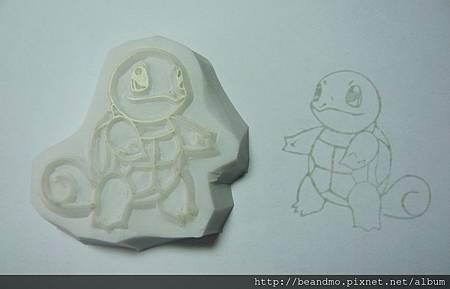 NO.007 傑尼龜 (ゼニガメ)