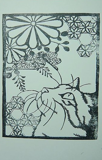 貓與蜻蜓(封)