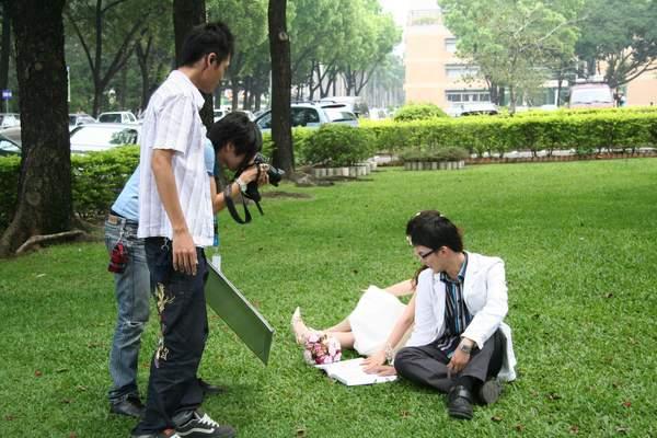 我們的攝影師和阿良助理