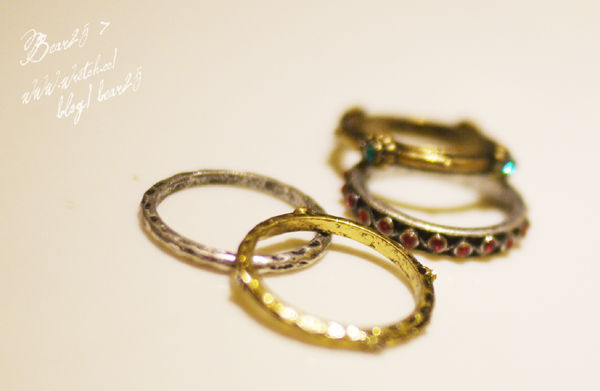 R02 復古戒指套組