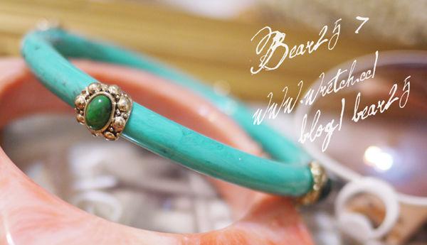 B06B 摩洛哥寶石手鐲(土耳其藍)