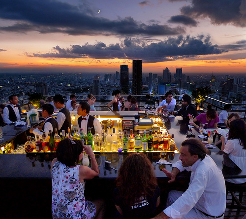 The moon bar bangkok