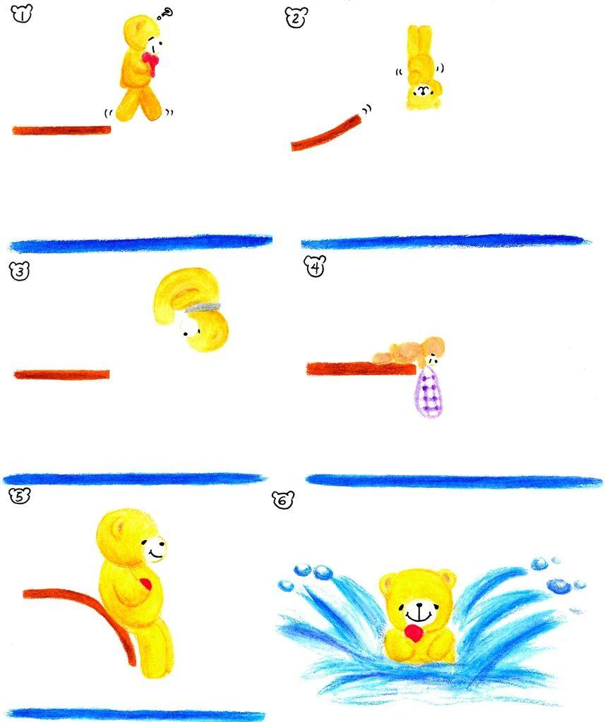 熊熊跳水賽
