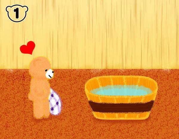 涼快冷水浴1
