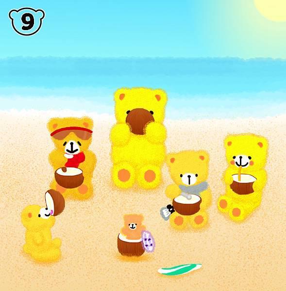 海灘遊玩篇-4-5