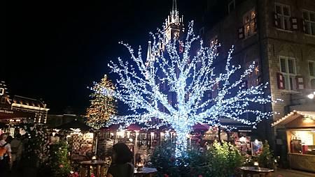 豪斯登堡-阿姆斯特丹廣場夜景