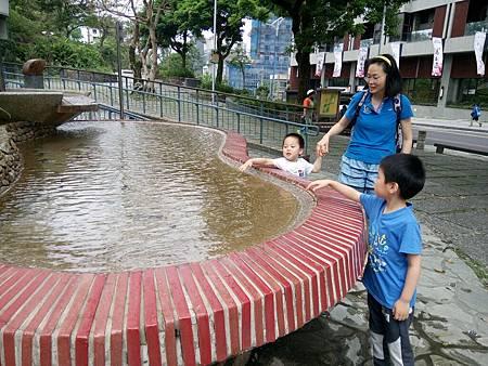 礁溪溫泉公園的溫泉水