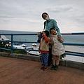 海洋公園到處都可以眺望太平洋