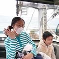 搭海洋公園的纜車上去,再走路下來