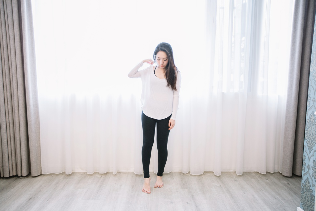 【壓力褲推薦】♥ 瘦身 ♥ 運動時刻的好夥伴。E Heart塑身美腿曲線修飾壓力褲