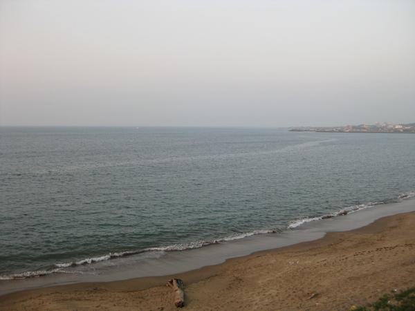 傍晚的淺水灣