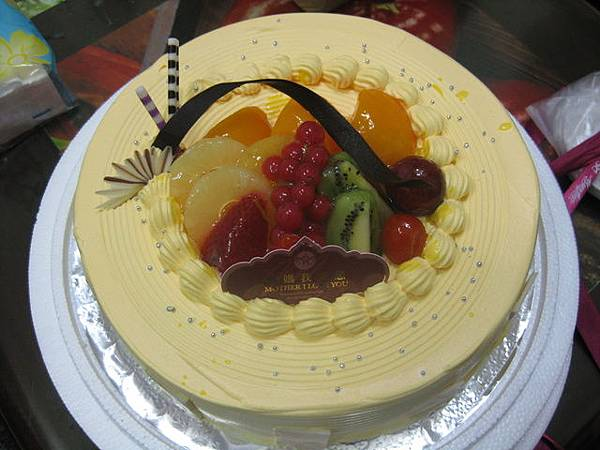 麥仕佳的芒果蛋糕
