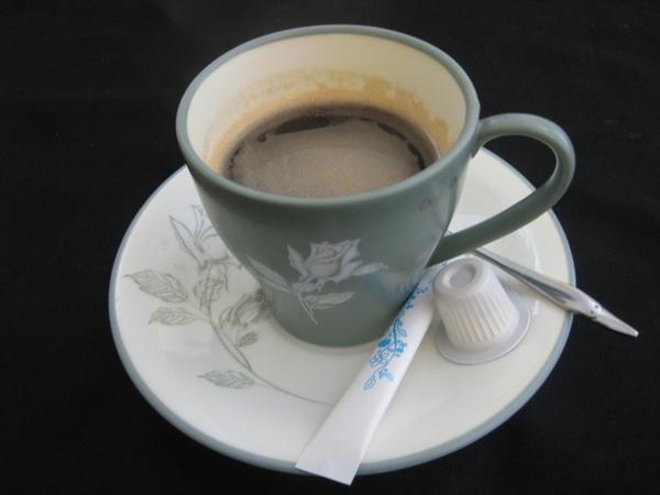 黑咖啡(熱)