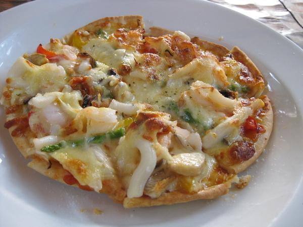 手工pizza