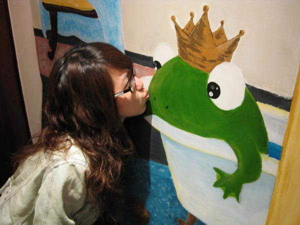 親吻青蛙王子