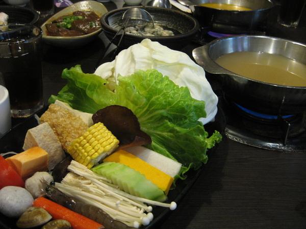 梅花豬肉和風燒鍋