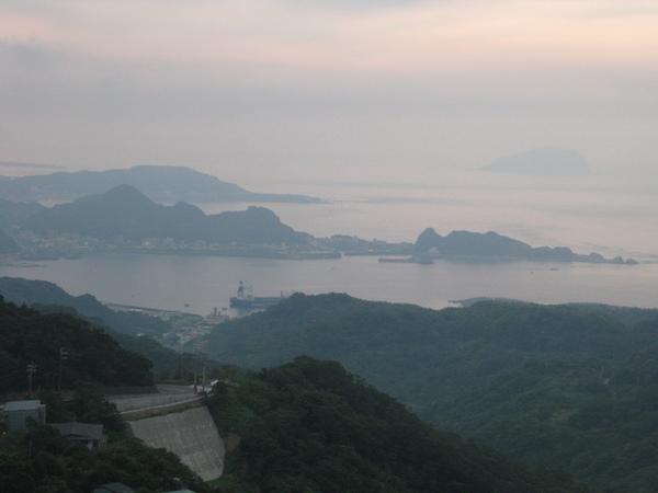 很美的山景+海景