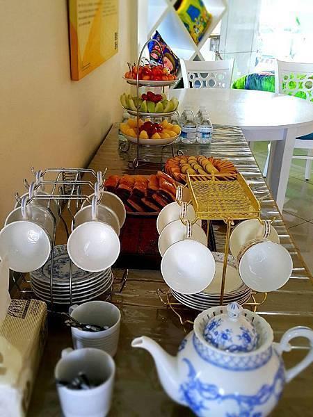 精緻豐富的下午茶點
