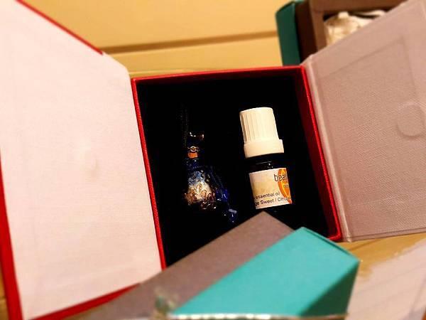 甜橙精油禮盒-藍