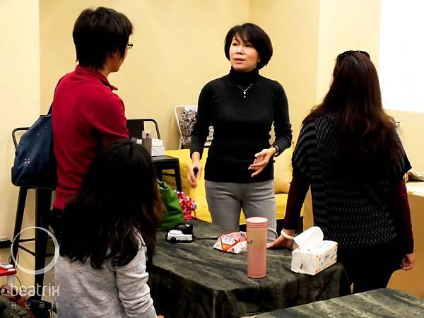 講師與學員熱情互動