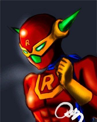 Rasman the super hero