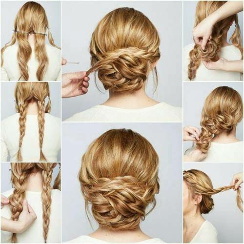 low_braided_bun