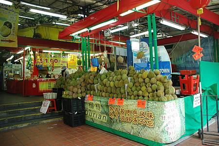 牛車水市場水果攤