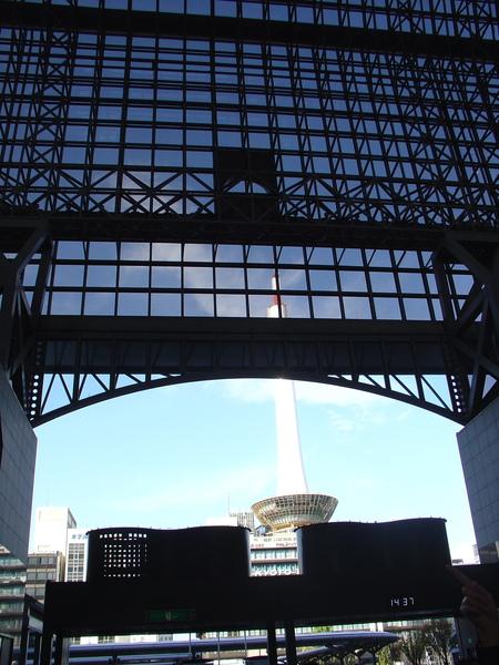 京都車站--京都塔