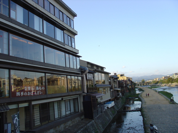 京都街頭--鴨川