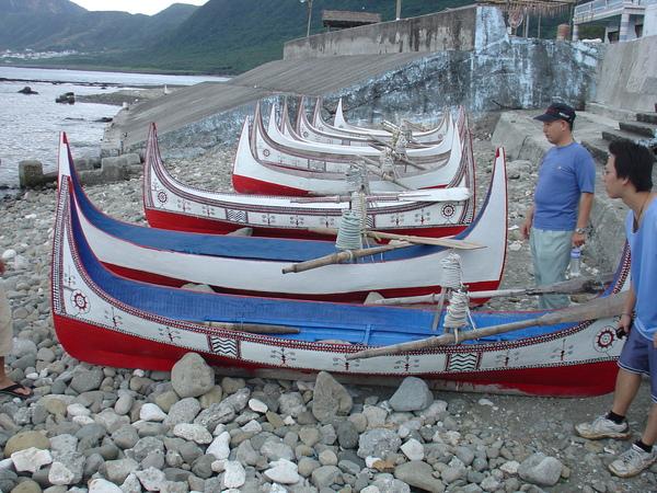 蘭嶼~拼板舟