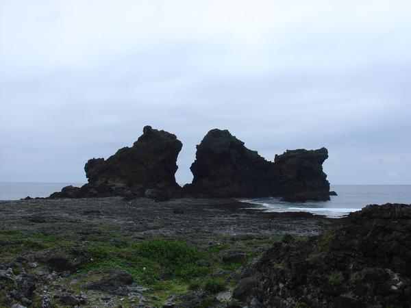 蘭嶼~雙獅岩