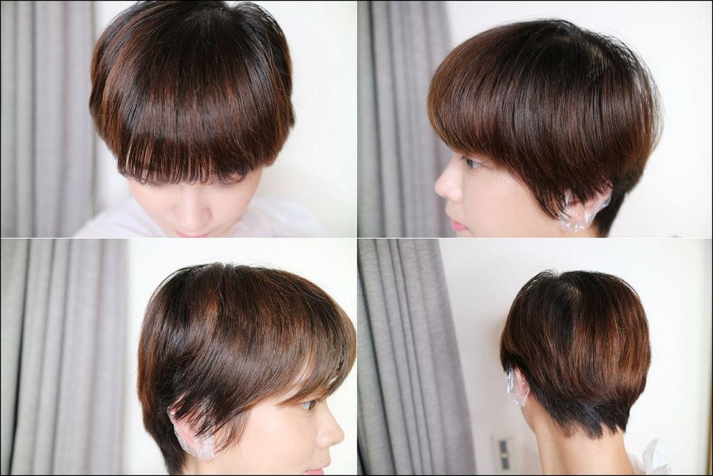 短发 发色